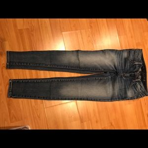 American eagle stretch skinny jeans size 1